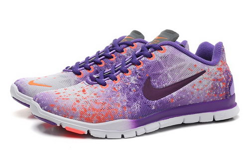Nike Free Tr Fit 3 Prt Womens Shoes Purple White Hot Coupon
