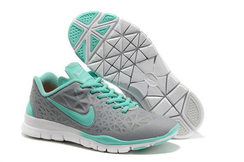 Nike Free Tr Fit 3 Womens Shoes Gray Blue Coupon Code
