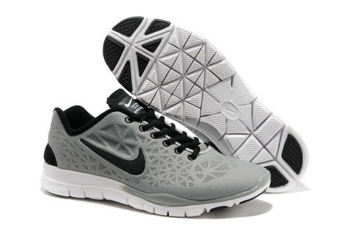 Nike Free Tr Fit 3 Womens Shoes Gray Wholesale