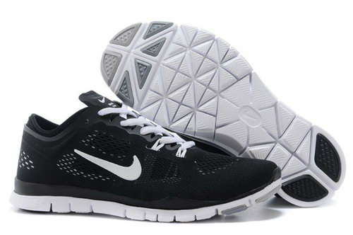 Nike Free Tr Fit 5.0 Mens Shoes Black Silver New Special Taiwan