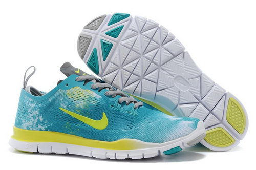 Nike Free Tr Fit 5.0 Mens Shoes Green Yellow Gray New Online Shop