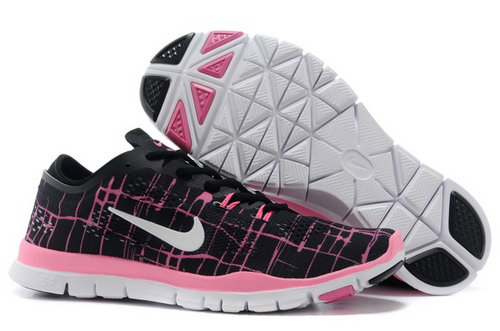 Nike Free Tr Fit 5.0 Mens Shoes Pink Gray Black New Spain