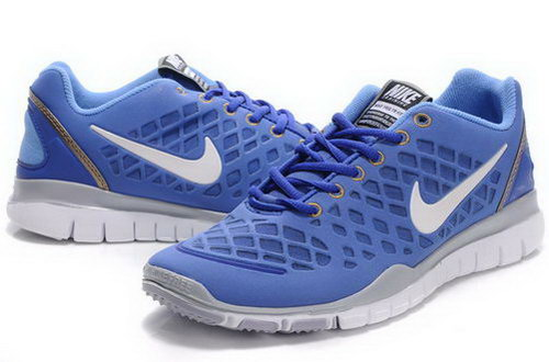 Nike Free Tr Mens Blue White Review