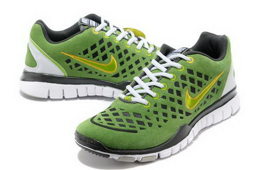 Nike Free Tr Mens Green Grey Low Price