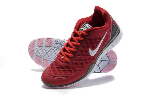 Nike Free Tr Womens & Mens (unisex) Red Grey Uk