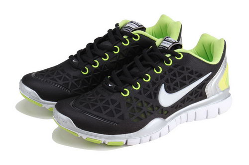 Nike Free Tr Womens Black Green White Poland