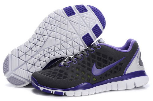 Nike Free Tr Womens Black Purple Wholesale