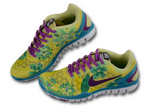 Nike Free Tr Womens Lemon Yellow Purple Outlet Store