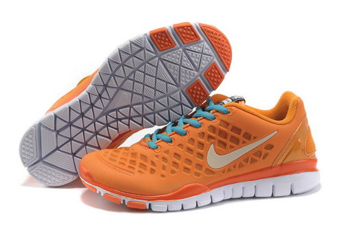 Nike Free Tr Womens Orange White Korea