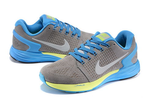 Nike Lunarglide 7 Mens & Womens (unisex) Grey & Blue Spain