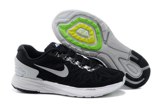 Nike Lunarglide 6 Trainers Men Black Grey Netherlands