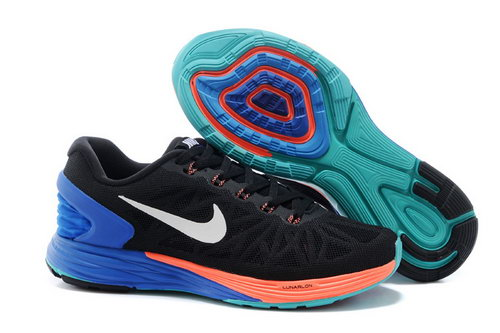Nike Lunarglide 6 Trainers Women Black Blue Discount Code