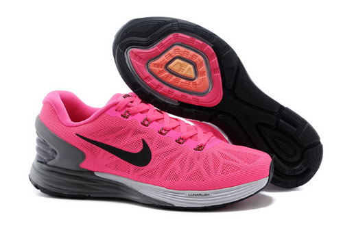 Nike Lunarglide 6 Trainers Women Pink Black Outlet