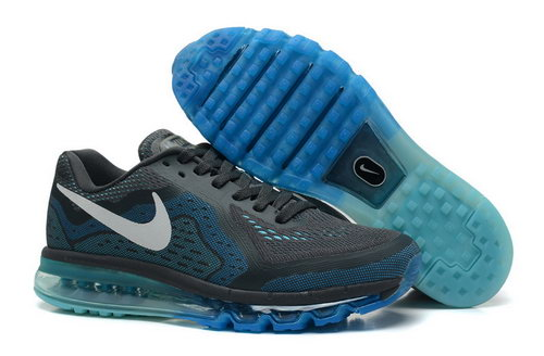 Nike Nike Air Max 2014 Men Darkgrey Sapphire White Shoes Portugal