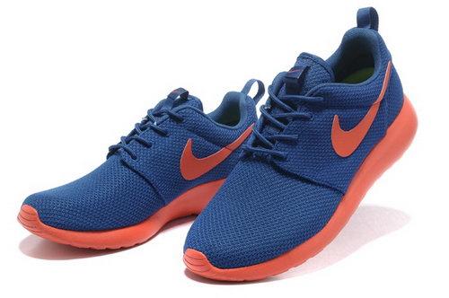 Nike Roshe Mens Running Shoes Blue Orange Hot Germany