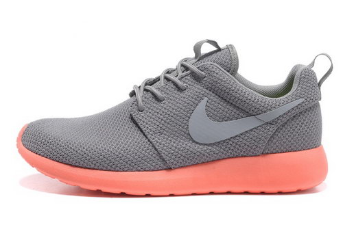 Nike Roshe Mens Running Shoes Gray Orange Hot Review