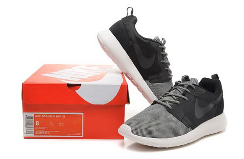 Nike Roshe Run 3m Mens Shoes Black Gray Hot Sale