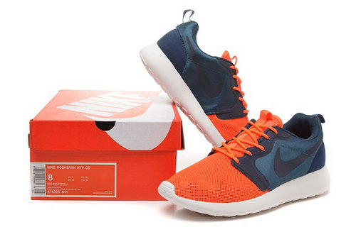 Nike Roshe Run 3m Mens Shoes Orange Deep Gray Black Hot Portugal