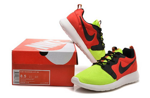 Nike Roshe Run 3m Mens Shoes Red Green Black Hot Outlet Store