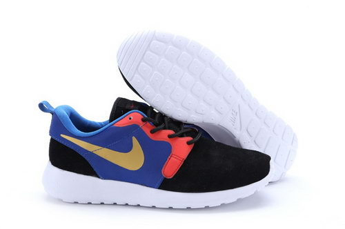 Nike Roshe Run Hyp Prm Qs Mens Shoes Fur Black Orange Purple Yellow New Winter Promo Code