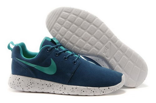 Nike Roshe Run Hyp Prm Qs Mens Shoes Fur Lake Blue All New Winter Closeout