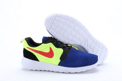 Nike Roshe Run Hyp Prm Qs Mens Shoes Fur Purple Yellow Red Black New Winter Low Cost