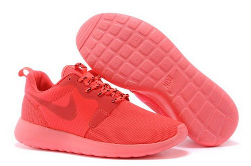 Nike Roshe Run Hyperfuse 3m Reflective Womenss Shoes Orange All New Wholesale