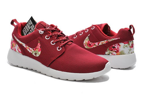 Nike Roshe Run Mens & Womens (unisex) 2015 Flower Hook Red White Canada
