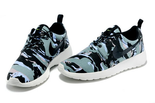 Nike Roshe Run Mens & Womens (unisex) Floral Camo Blue Black Japan