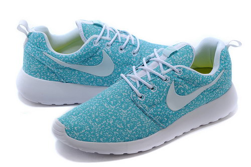 Nike Roshe Run Mens Floral Blue White Germany