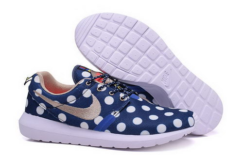 Nike Roshe Run Speckle Pattern Blue Whtie 40-44 Reduced