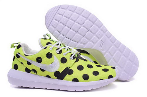 Nike Roshe Run Speckle Pattern Green Black 36-39 Hong Kong