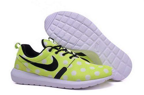 Nike Roshe Run Speckle Pattern Green Whtie 40-44 Online