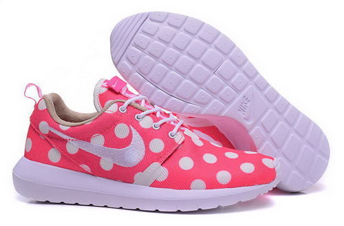 Nike Roshe Run Speckle Pattern Pink White 36-39 France