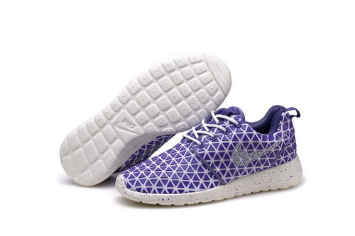 Nike Roshe Run Triangle Purple 36-39 New Zealand