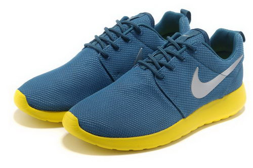 Nike Roshe Run Womens & Mens (unisex) Dark Blue Orange Usa