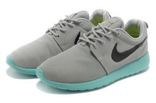 Nike Roshe Run Womens & Mens (unisex) Grey Green Promo Code