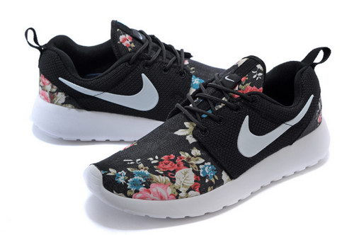 Nike Roshe Run Womens Floral Black Floral Ireland