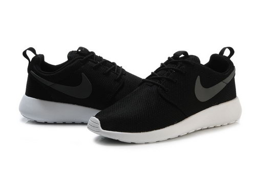 Nike Roshe Runing Womens & Mens (unisex) Black White Low Cost