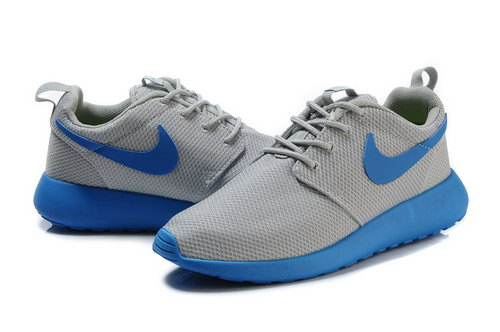 Nike Roshe Runing Womens & Mens (unisex) Grey Blue Cheap