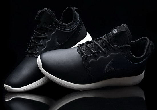 Nike Roshe Two Leather Prm Mens & Womens (unisex) Black Promo Code