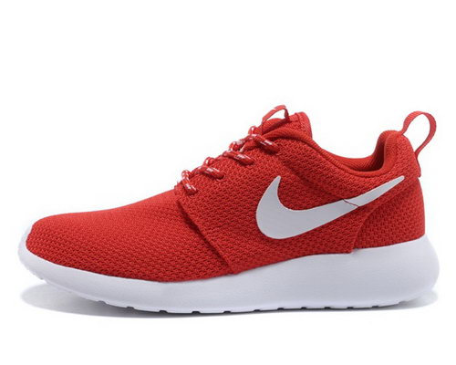 Nike Roshe Womenss Running Shoes Red White Special Switzerland