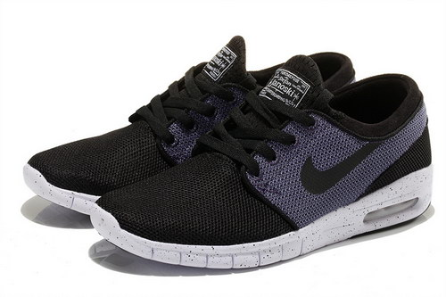 Nike Sb Stefan Janoski Max Mens & Womens (unisex) Black Purple Sweden