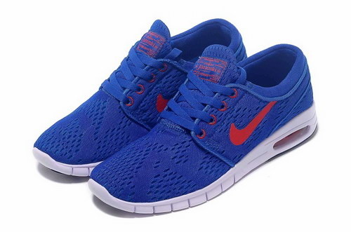 Nike Sb Stefan Janoski Max Mens & Womens (unisex) Blue Red Coupon Code