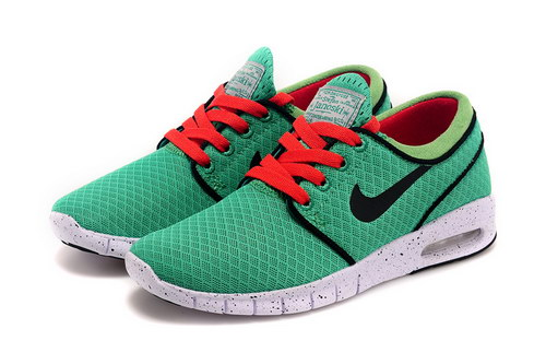 Nike Sb Stefan Janoski Max Mens & Womens (unisex) Green Black Red Outlet Store
