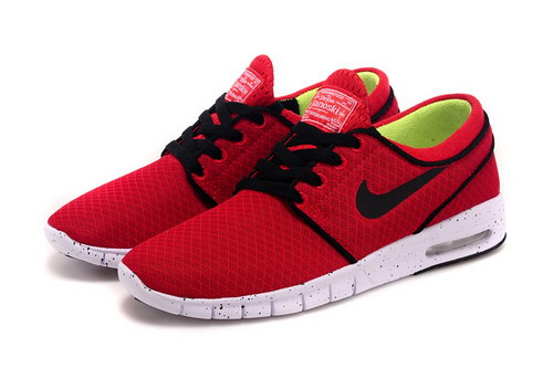 Nike Sb Stefan Janoski Max Mens & Womens (unisex) Red Black Closeout