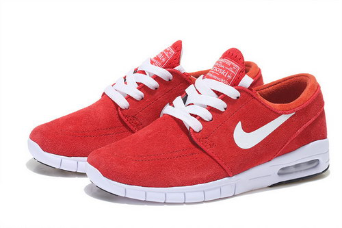 Nike Sb Stefan Janoski Max Mens & Womens (unisex) Red White Czech