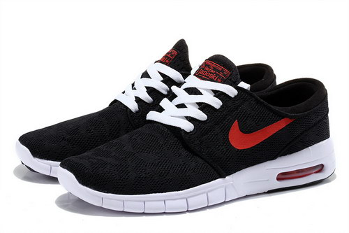 Nike Sb Stefan Janoski Max Mens Black Red White Review