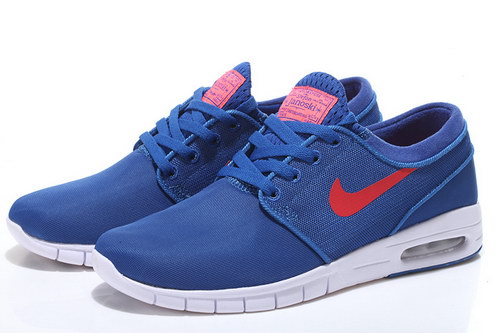 Nike Sb Stefan Janoski Max Mens Blue Red Factory Outlet