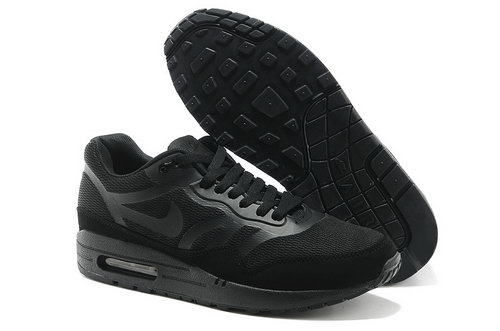 Nike Wmns Air Max 1 Cmft Prm Tape Men All Black Running Shoes Ireland